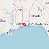 Lac Ahémé route Comé-Ouidah