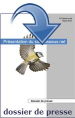Télécharger notre dossier de presse - Oiseaux.net