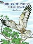 Birds of Prey Coloring Book - John Green