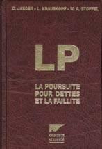 Poursuite pour Dette et Faillite-13e ed.