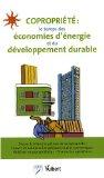 Copropriété : le temps des économies d'énergie et du développement durable